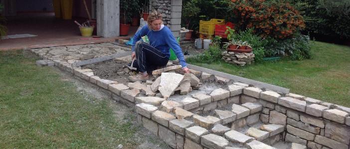 Chi siamo artigiani pietra credaro lavori in pietra di for Pietra di credaro rivestimenti